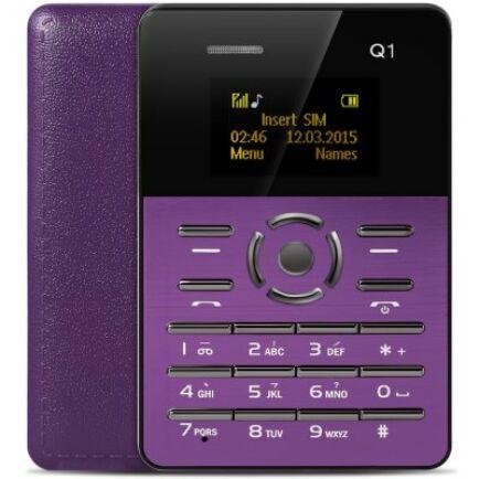 AIEK Q1 mobiltelefon - Lila
