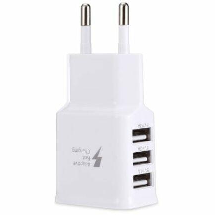 Gocomma Hálózati USB töltő Adapter 2A - 3 USB aljzattal