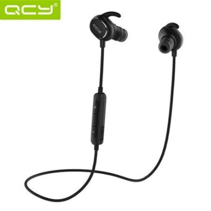 QCY QY19 Bluetooth 4.1 fülhallgató mikrofonnal - Fekete