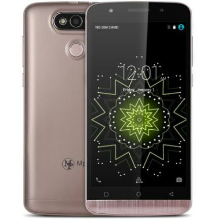 Mpie Z9 3G okostelefon - Vörös arany