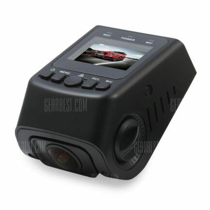EU ECO Raktár - A118C - B40C 1080P FHD 170 fokos széles látószögű autó DVR (CN)  - Fekete