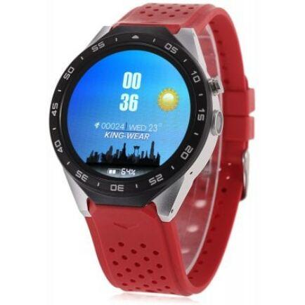 EU ECO Raktár - KingWear KW88 3G okosóra telefon - Piros