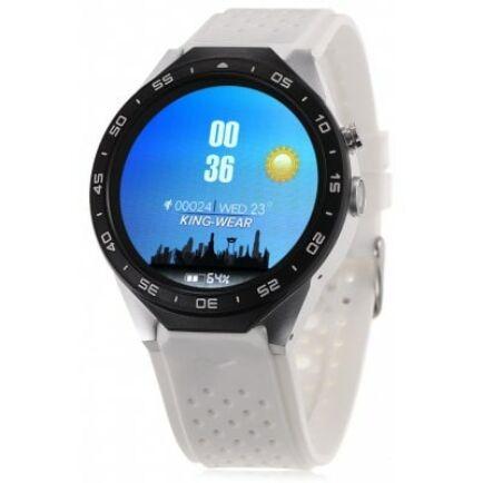 EU ECO Raktár - KingWear KW88 3G okosóra telefon - Fehér