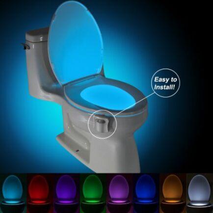 Infra szenzoros LED WC és fürdőszobai megvilágítás BRELONG