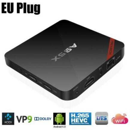 NEXBOX A95X Android 6.0 4K TV Box 2GB + 16GB - Fekete