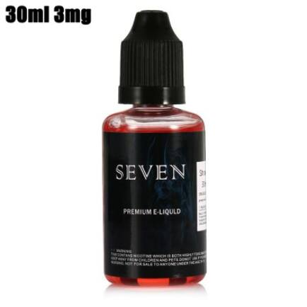 SEVEN Eper Ízű E-liquid - 30ML 3MG