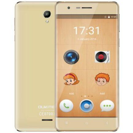 OUKITEL K4000 Lite 4G okostelefon - Arany