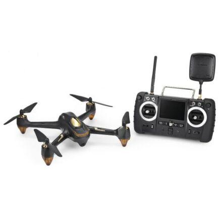 EU ECO Raktár - Hubsan H501S X4 kefe nélküli drón (CN) - EU csatlakozó - Fekete