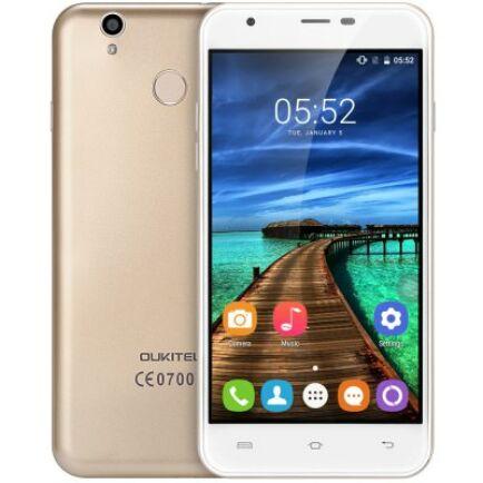 Oukitel U7 Plus 4G okostelefon - Arany