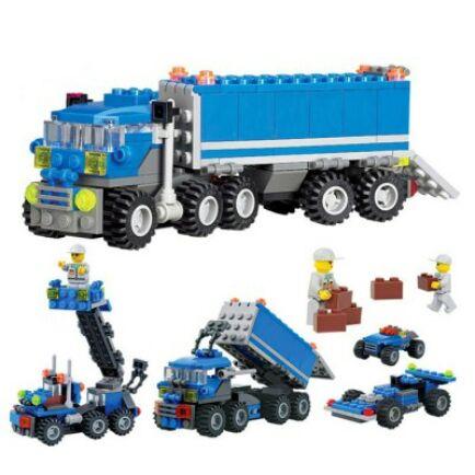 163 darabos Legó teherautó - Kék