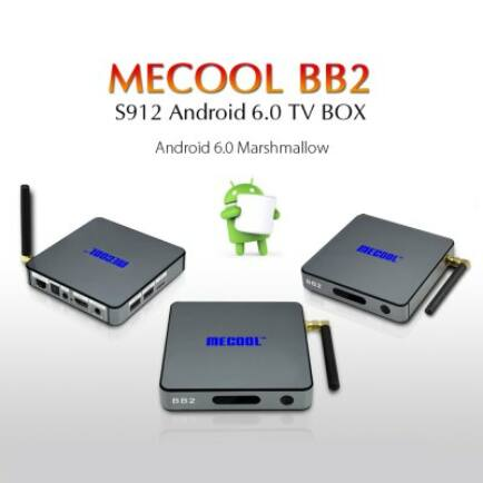 MECOOL BB2 Android 6.0 4K TV Box - Szürke