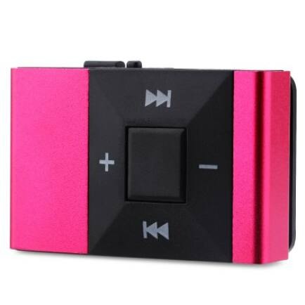 Mini Clip MP3 lejátszó - Pink