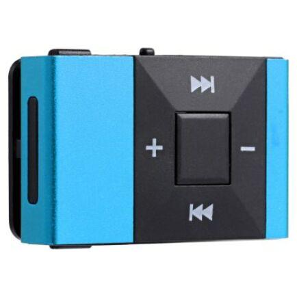 Mini Clip MP3 lejátszó - Kék