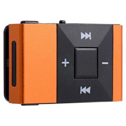 Mini Clip MP3 lejátszó - Narancs