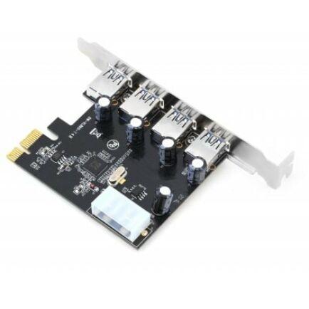 PCIE-USB30-T4B 4 Portos USB 3.0 PCI Express bővítőkártya