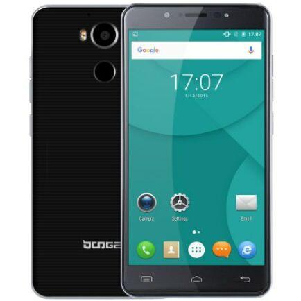 Doogee F7 4G okostelefon - Fekete