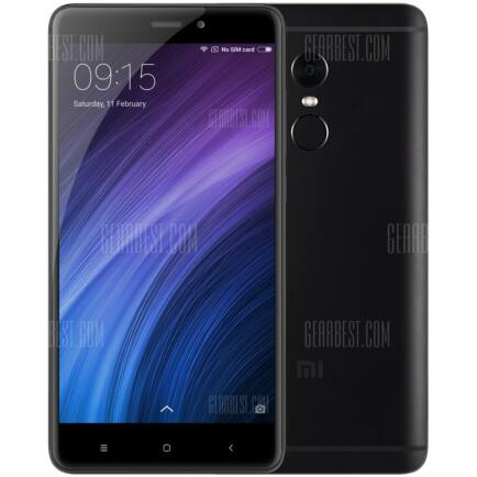 Xiaomi Redmi Note 4 4G okostelefon - 32GB Global verzió, Fekete