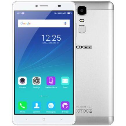 EU Raktár - DOOGEE Y6 Max 4G okostelefon - Ezüst