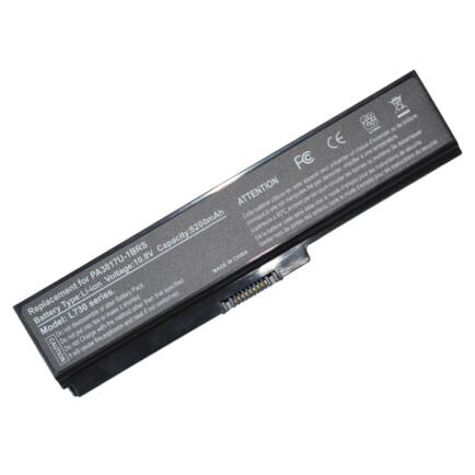 5200mAh Laptop akksi Toshiba Satellite L730 Series PA3817U-1BRS