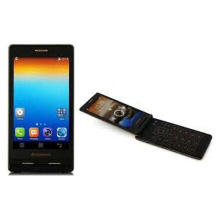 EU ECO Raktár - Lenovo A588T 4.0 TFT MTK6582 Android 4.4 flip mobiltelefon - Arany