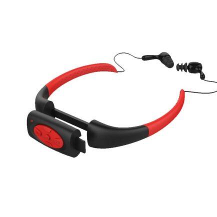 Nyakpánt stílusú vízálló IPX8 sport MP3 lejátszó FM funkcióval úszáshoz