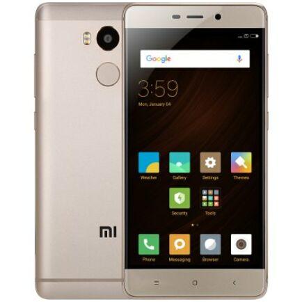 EU ECO Raktár - Xiaomi Redmi 4 4G okostelefon (HK) - 3GB+32GB Arany