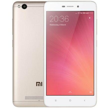 Xiaomi Redmi 4A 4G okostelefon - Globális 16GB - UK csatlakozó - Arany