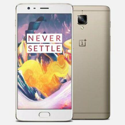 EU ECO Raktár - OnePlus 3T 4G okostelefon - 6GB+64GB Arany