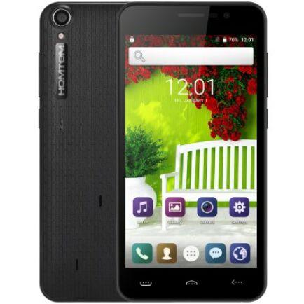 HOMTOM HT16 PRO 4G okostelefon - Fekete