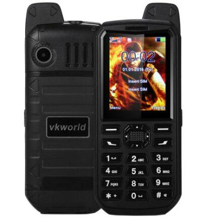 Vkworld Stone V3 Plus mobiltelefon - Fekete