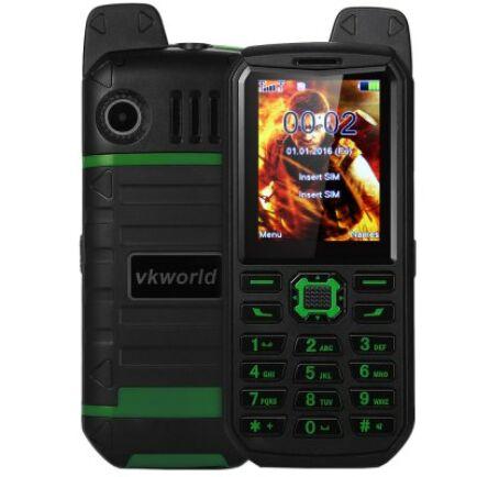 Vkworld Stone V3 Plus mobiltelefon - Zöld