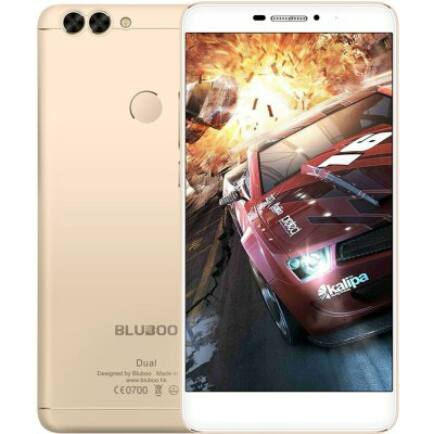 BLUBOO Dual 4G okostelefon - Arany