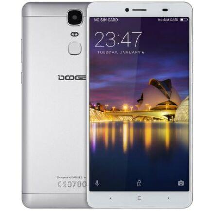 DOOGEE Y6 Max 3D 4G okostelefon - Ezüst