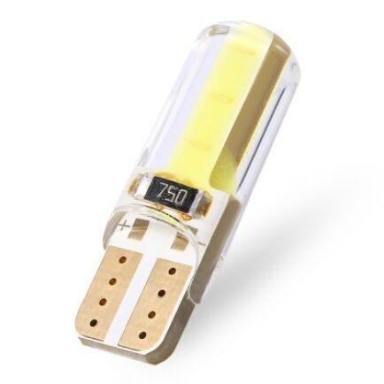 T10-W5W 12V 1W autó LED izzó - Sárga
