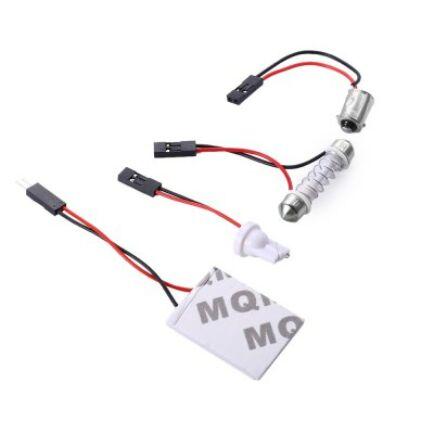 1.2W autó LED tolató izzó - Fehér