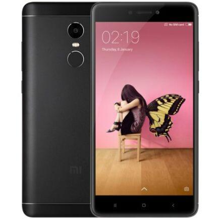 EU ECO Raktár - Xiaomi Redmi Note 4X 4G okostelefon - 32GB, Fekete