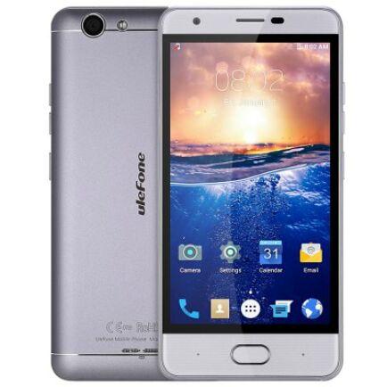 EU ECO Raktár - Ulefone U008 Pro 4G okostelefon - Ezüst és szürke