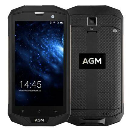 EU ECO Raktár - AGM A8 4G okostelefon (HK) - Fekete