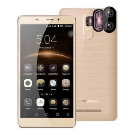 Leagoo M8 Pro 4G okostelefon (HK)-Arany
