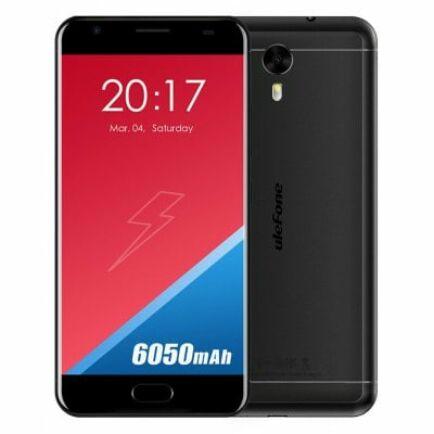 Ulefone Power 2 4G okostelefon - Fekete