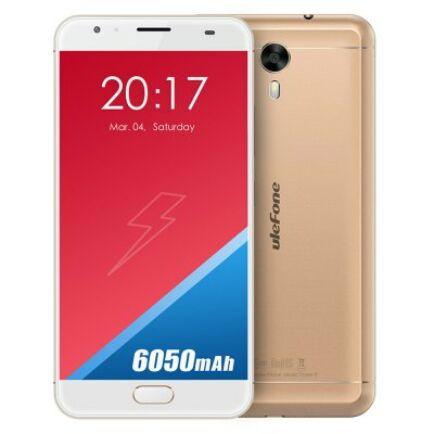 EU Raktár - Ulefone Power 2 4G okostelefon - Arany