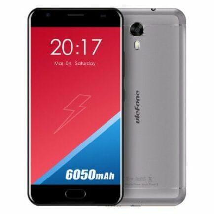 EU Raktár - Ulefone Power 2 4G okostelefon - Szürke