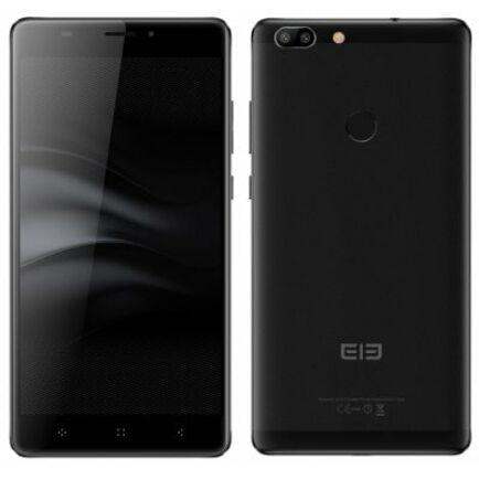 EU ECO Raktár - Elephone C1 Max 4G okostelefon (HK) - Fekete