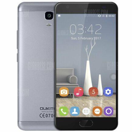 OUKITEL K6000 Plus 4G okostelefon - Szurke