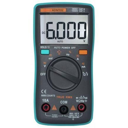 ZT102 Digitális Multiméter - Zöld