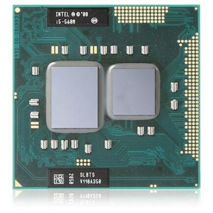 Intel i5-560M 3.20GHz Turbo SLBTS CPU Processzor laptopokhoz