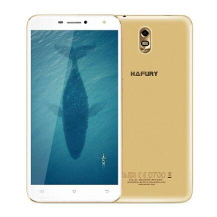 EU ECO Raktár - HAFURY UMAX 3G okostelefon (HK) -EU csatlakozóArany