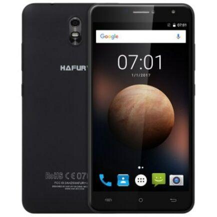 EU ECO Raktár - HAFURY UMAX 3G okostelefon (HK) -EU csatlakozóFekete