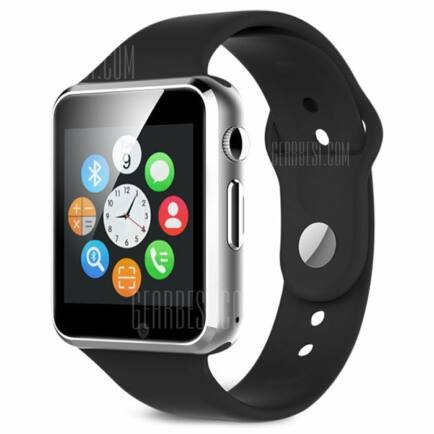 A1 Bluetooth 2G okosóra telefon (CN) - Fekete