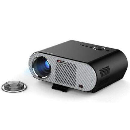 EU ECO Raktár - VIVIBRIGHT GP90 LCD projektor - EU csatlakozó - Fekete